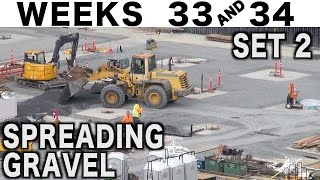 Spreading gravel: Musical construction time-lapse (Weeks 33+34 set 2)