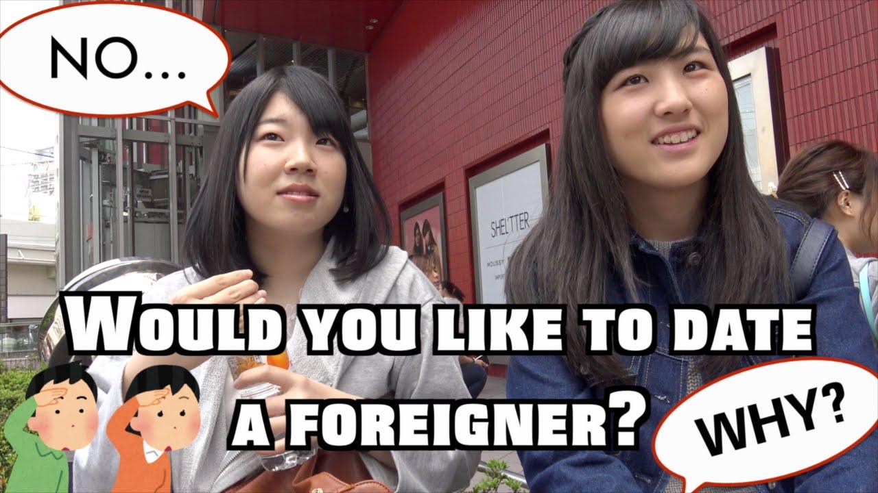 japanese girl dating foreigner