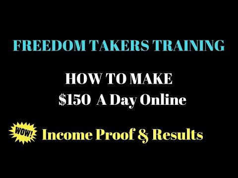 Best Business To Start In 2018 - How To Make $150 A Day - Income Proof & Results