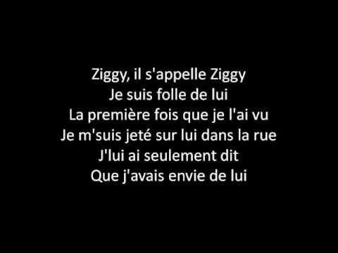 [Paroles] Céline Dion - Ziggy (c'est un garçon pas comme les autres)