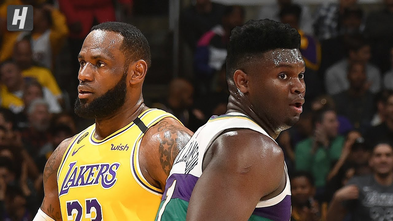 New Orleans Pelicans Vs Los Angeles Lakers Full Highlights Feb 25 2020 2019 20 Nba Season Youtube