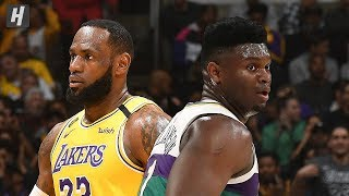 New Orleans Pelicans vs Los Angeles Lakers - Full Highlights | Feb 25, 2020 | 2019-20 NBA Season