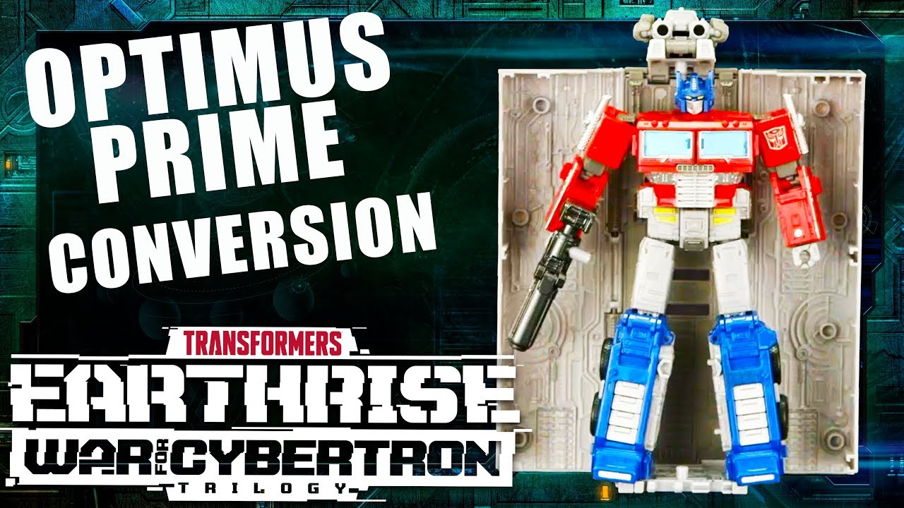 How to Convert Leader Earthrise Optimus Prime Offical VIdeo