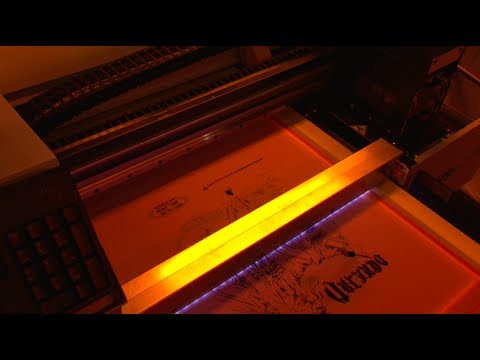 i-Image STE & STE II - Computer-to-Screen (CTS) Imaging & Exposure System - M&R Screen Printing