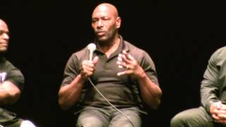 Lee Haney & Dorian Yates Speak About Each Other at The 2012 Master Mr Olympia