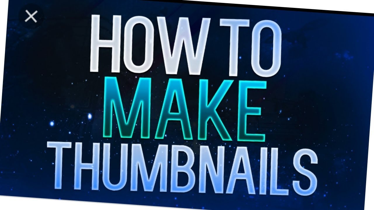 how to add thumbnail to youtube video