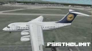 【An Fsx Movie】-【 The world of the BAe 146 (Qualitywings)】-【HD FSX】