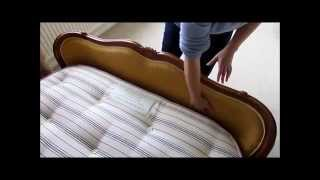 Measuring an Antique French Corbeille bed for a Base and Mattress