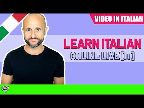 Practice Intermediate and Advanced Italian Comprehension: Learn Italian Online LIVE [IT] 16/04/18