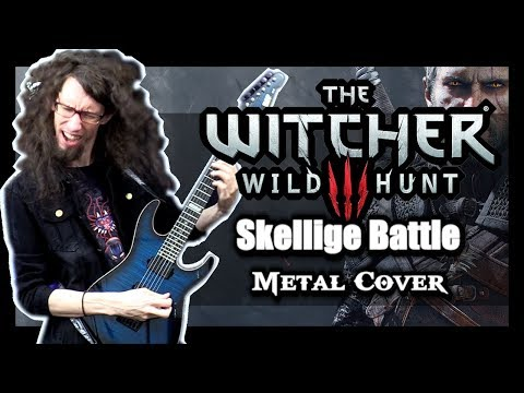 """the-witcher-3:-wild-hunt-""""skellige-battle-1""""---metal-cover-by-toxicxeternity"""