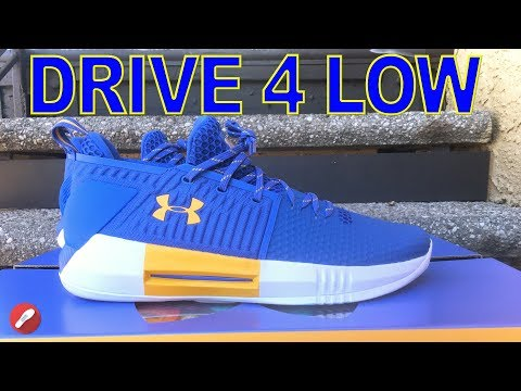 Under Armour Drive 4 Low UCLA PE First Impressions!