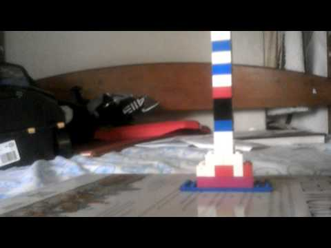 Showing the as Staley building LEGO model part 1