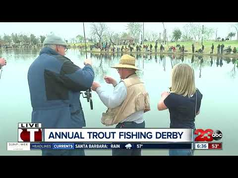 Annual Trout Fishing Derby at Riverwalk
