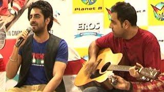 Ayushmann Singing