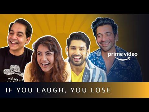 If you laugh you lose ft. Shehnaaz Gill, Sidharth Shukla, Sunil Grover & Gaurav Gera
