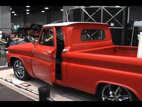 1966 Chevy Pickup Custom Flat Orange Paint Youtube
