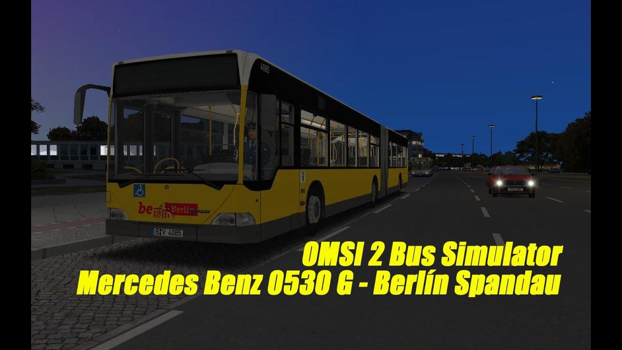 omsi 2 bus simulator mercedes benz o530g berl n spandau youtube. Black Bedroom Furniture Sets. Home Design Ideas