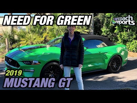 Mustang GT Convertible Review - Need For Green