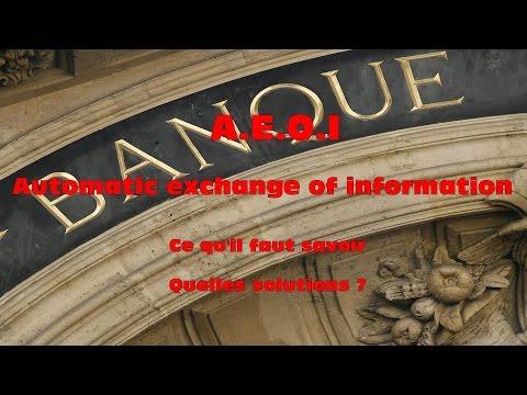 A.E.O.I (automatic exchange of information)