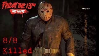 Friday the 13th The Game - Jason Part 6 - 8/8 Killed