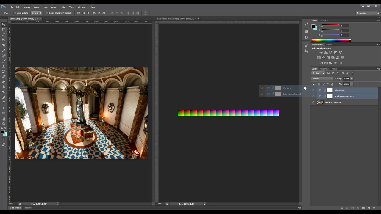 Using Lookup Tables (LUTs) for Color Grading | Unreal Engine