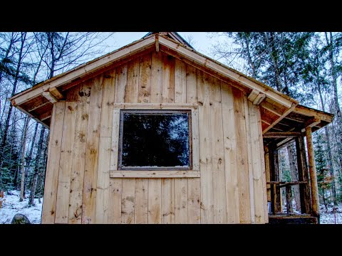 Room for My Wife at the Off Grid Log Cabin