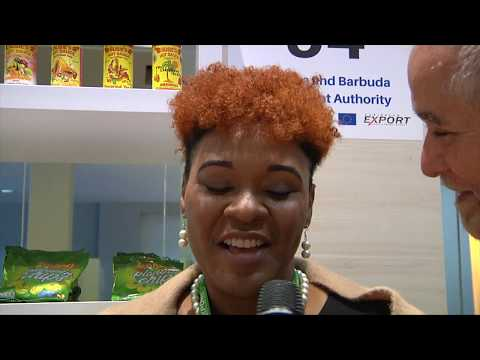 Antigua introduces it's agro-processed products to Europe
