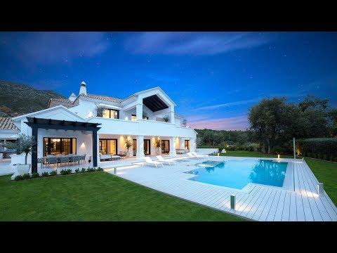 New Classic-Contemporary Villa in Sierra Blanca Marbella , Spain | 6.500.000 €