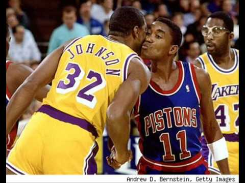 the truth behind the Magic johnson and Isiah Thomas beef