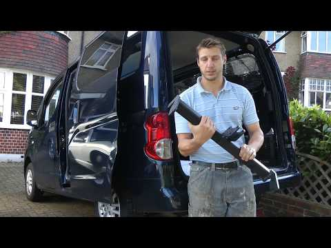 How To Fit A Tow Bar To A Nissan NV200 Combi, Van Or Evalia.