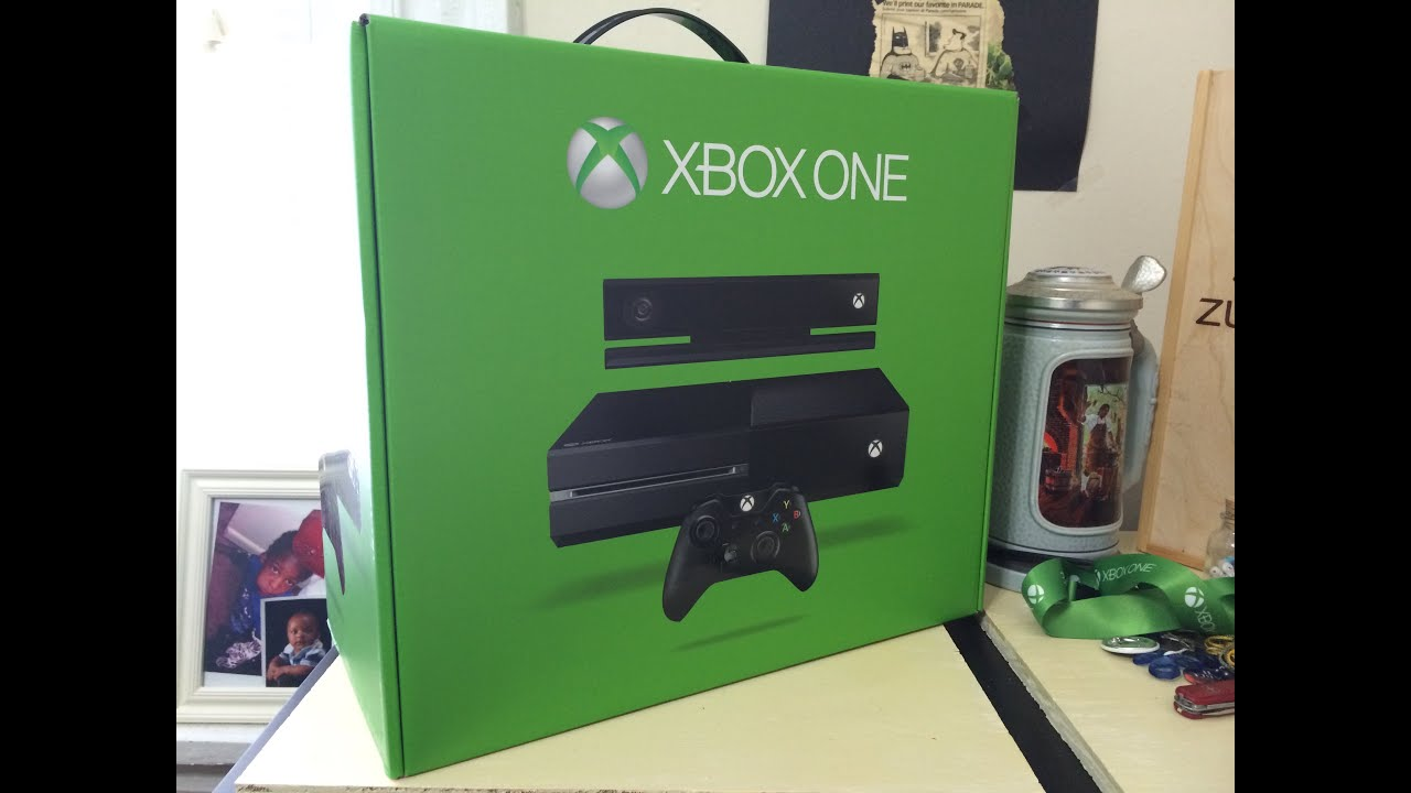 Xbox One Unboxing Xbox One Kinect...