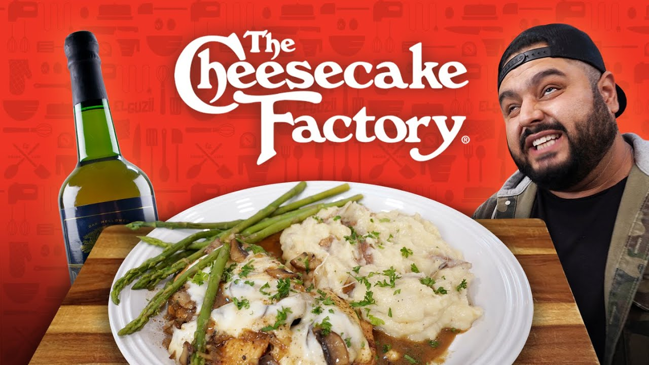 CHICKEN MADEIRA de CHEESECAKE FACTORY | EL GUZII