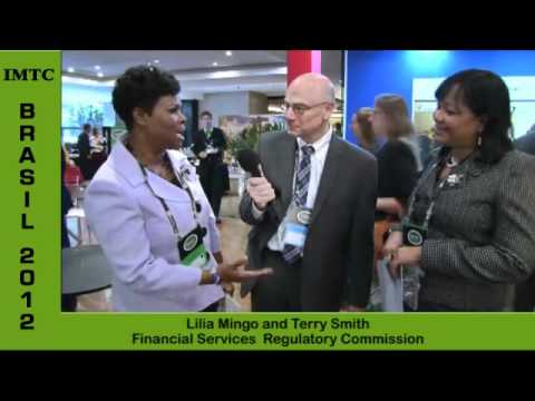 Interview of Lilia Mingo & Terry Smith from Antigua & Barbuda at IMTC BRASIL 2012