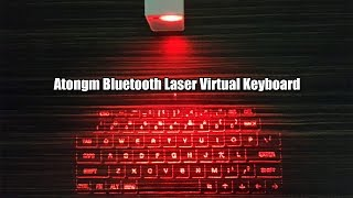 Atongm Virtual Bluetooth Laser Qwerty Keyboard for Android/iphone/Apple/PC @Tmart.com