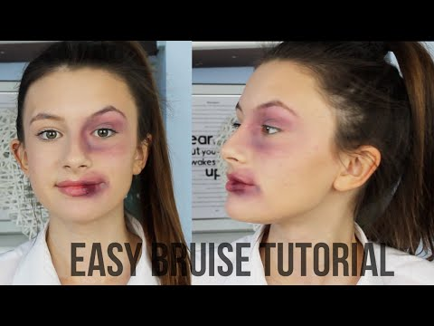 Black Eye/Bruise Tutorial Halloween Makeup