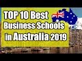 TOP 10 Best Business Schools in Australia 2019 FOR BBA/MBA