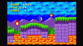 Sega Genesis Sonic 1 Mega Collection + PS2 Long Play Through Run