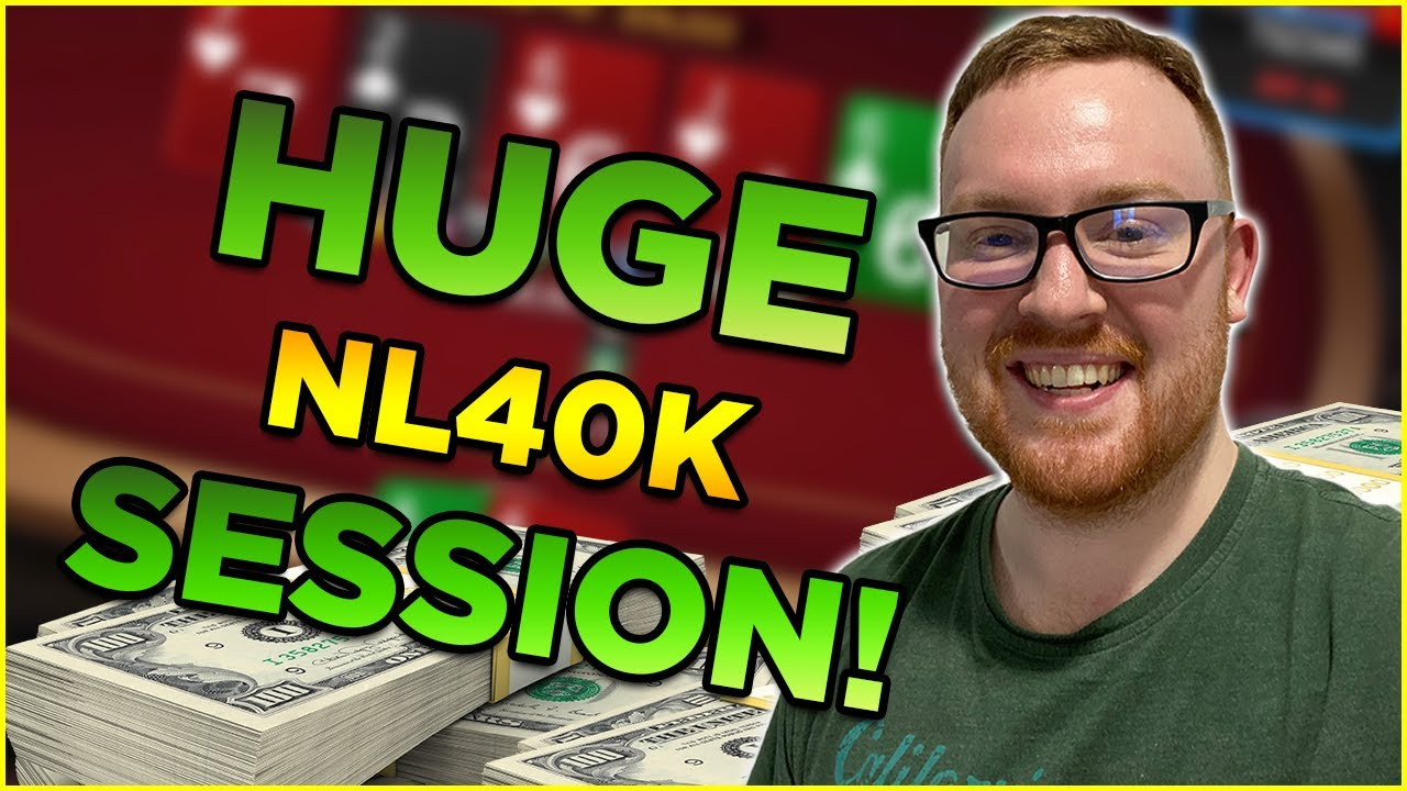 MY BIGGEST SESSION ON TWITCH! NL40K! GingePoker Stream Highlights