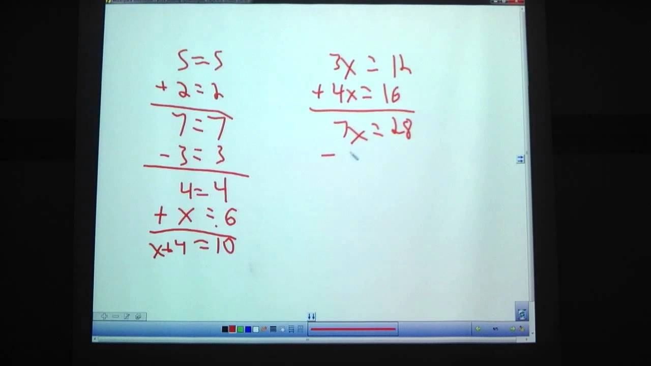 9th Grade, 1-11: Solving Systems of Equations by Substitution and ...