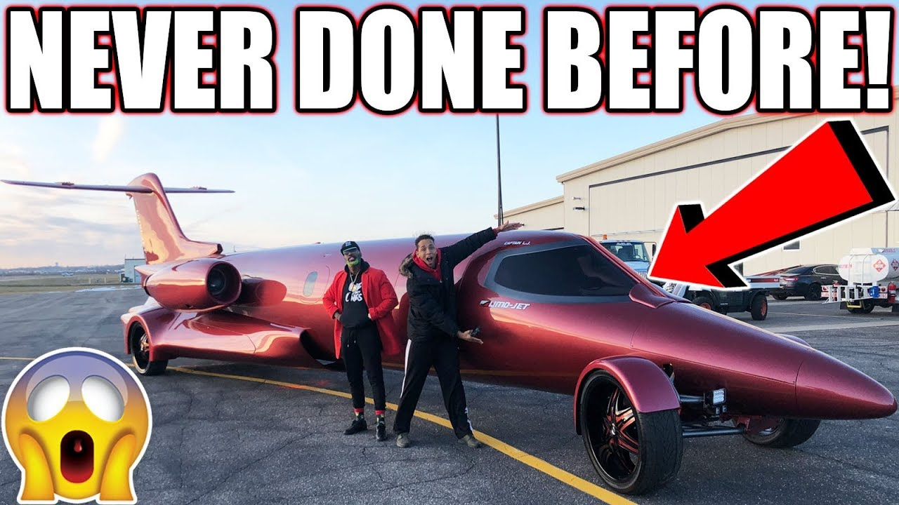 The only limo jet in the entire world i got to review it for Jet cars review