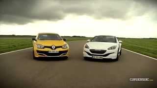 Renault Megane RS275 Trophy  vs Peugeot RCZ R