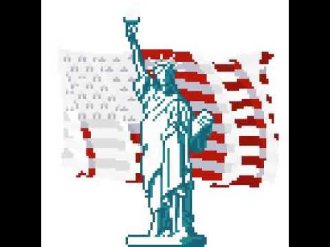Pixel Art Statue De La Liberté Youtube