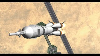 Soyuz MS-10 Failure Simulation - KSP RSS