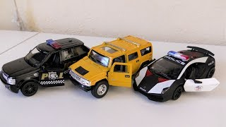 Toy cars review range rover sport, hummer h2, lamborghini