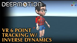 School Boy Avatar: 6-Point Tracking in VR with Inverse Dynamics