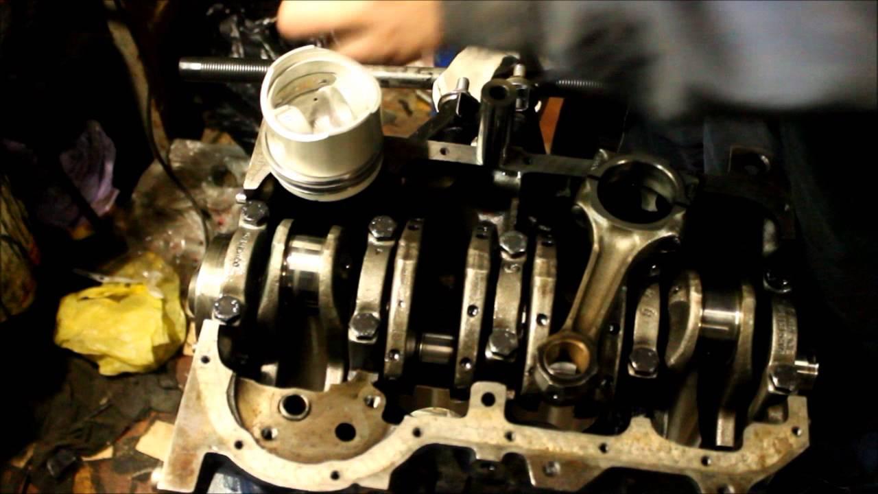 ремонт двигателя транспортера т3