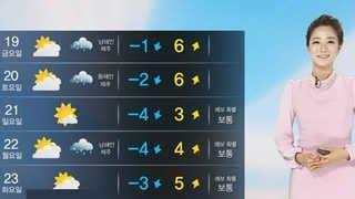 [날씨] 어제보다 더 포근해…중부 늦은 오후부터 비ㆍ눈