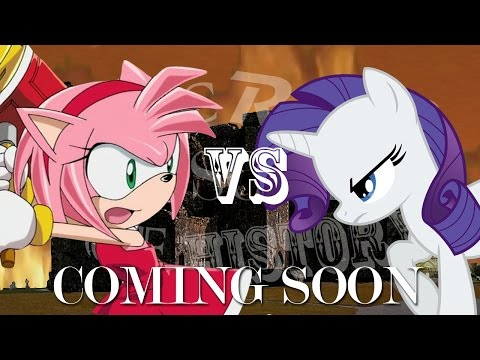 Epic Rap Crossovers of History: Amy Rose VS Rarity (Already Up)