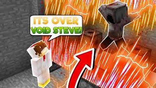 Minecraft Steve Saga - TRAPPING VOID STEVE