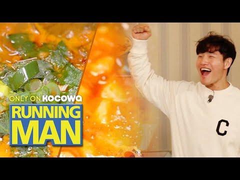 "Kim Jong Kook ""Korean food in LA is really good!"" [Running Man Ep 438]"